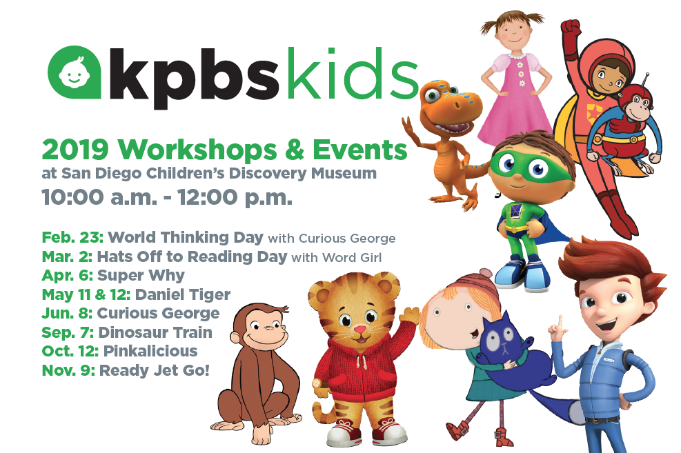 Kids Discovery Com >> Kpbs Kids Events San Diego Children S Discovery Museum