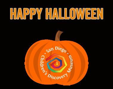 SDCDM Halloween Costume Treat   San Diego Children's Discovery Museum
